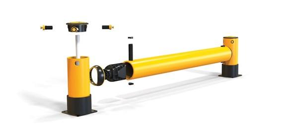 iflex-rackend-barrier_yellowpost_exp