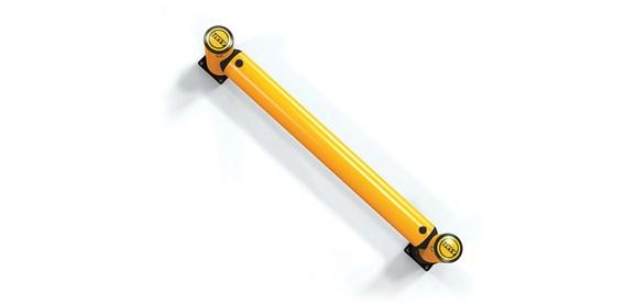iflex-rackend-barrier_yellowpost_top