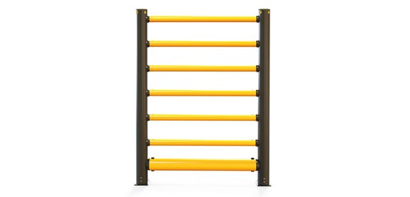 iflex-high-level-single-traffic-barrier-plus6-rails_front